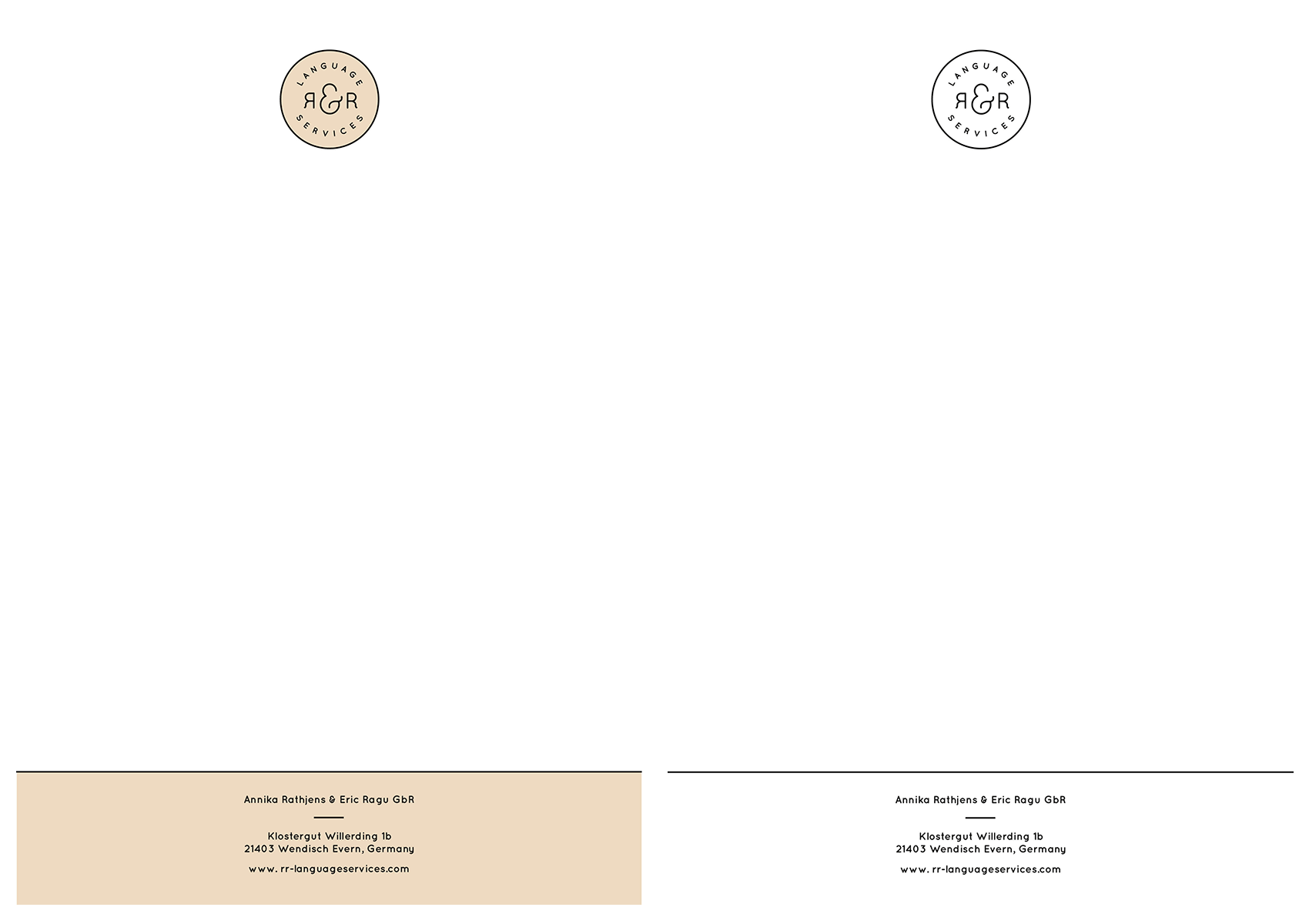 Heidschnack kann auch Briefpapier gestalten und drucken.