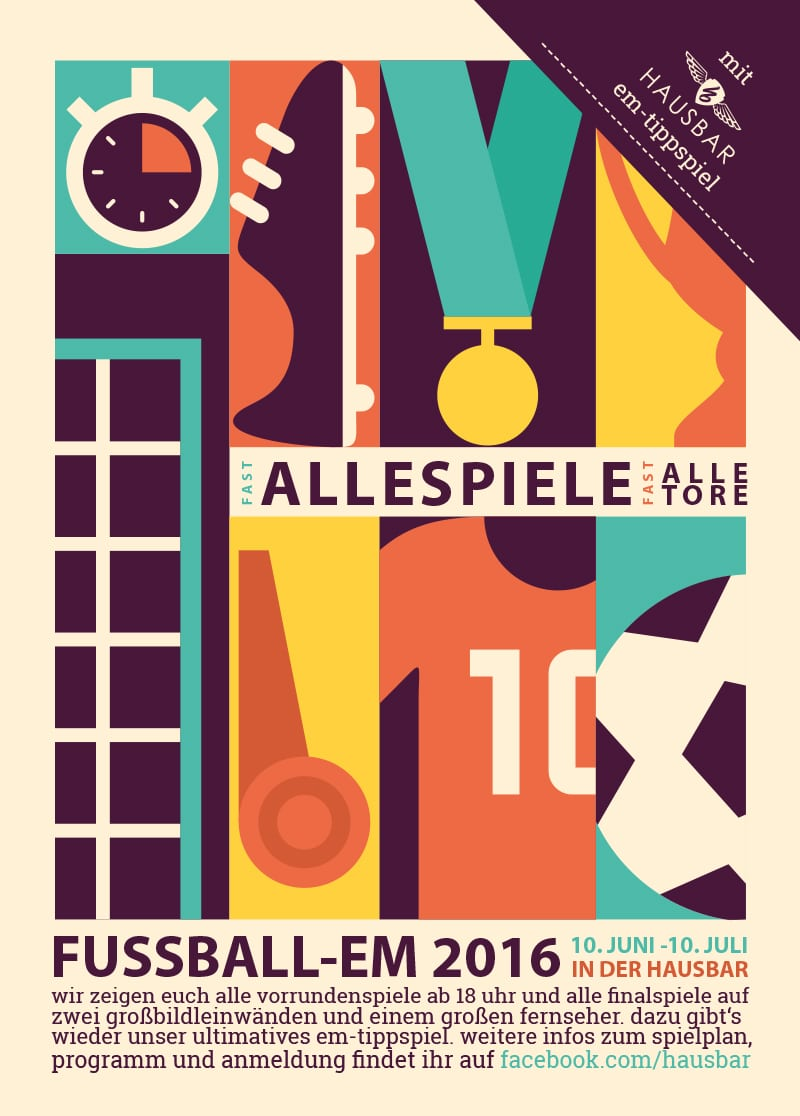 Heidschnack - Grafiker designen Poster.
