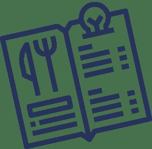 Heidschnack Grafikdesign aus Lüneburg erstellt auch Designs für die Gastronomie.